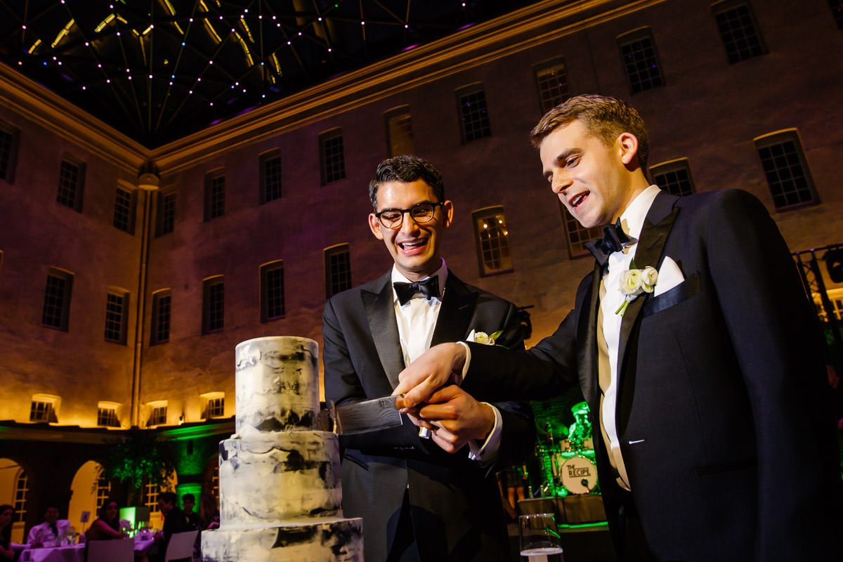 weddingcake gay wedding amsterdam